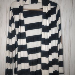 Medium stripe cardigan